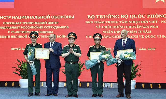 Đại tướng Ngô Xuân Lịch 'cảm ơn nước Nga'