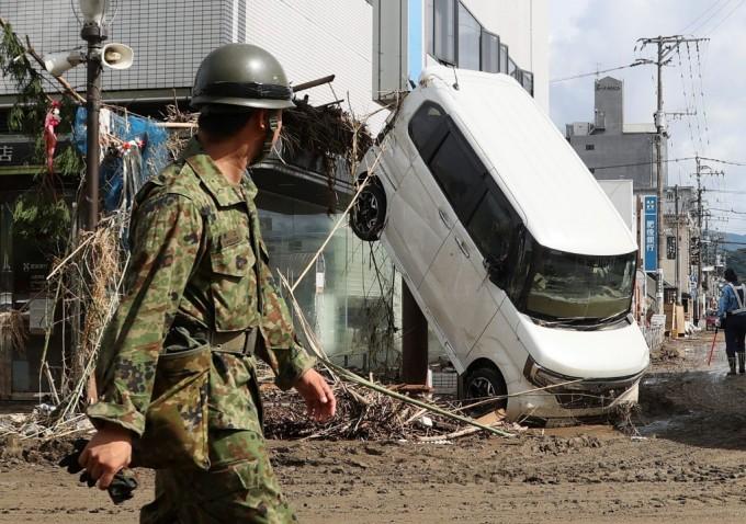 Nhật cảnh báo thảm họa mưa lũ