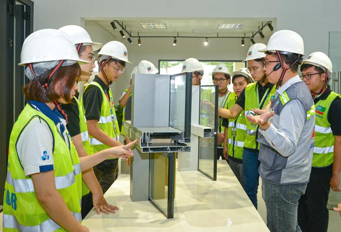 Sinh viên xây dựng trải nghiệm thực tế tại BM Windows