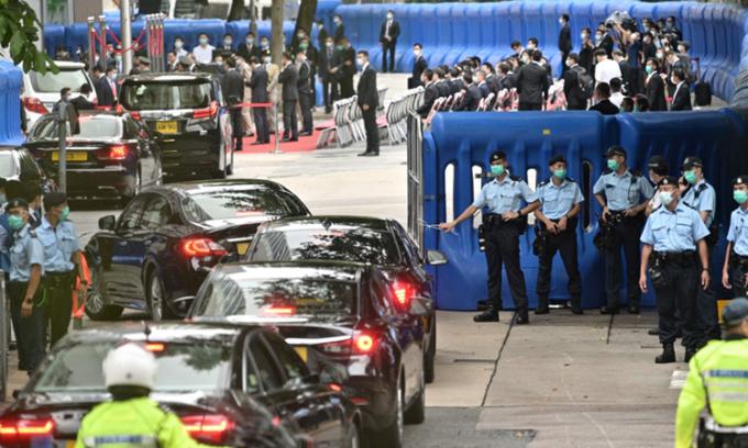 Trung Quốc khánh thành cơ quan an ninh ở Hong Kong