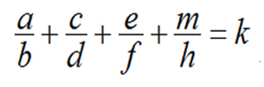 Đáp án bài toán điền phân số lớp 5