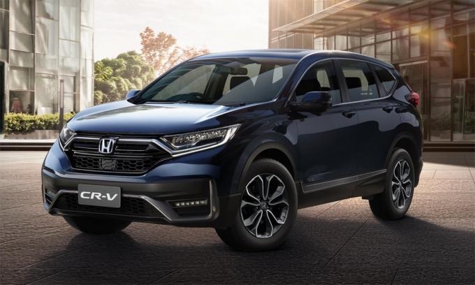Bản nâng cấp của CR-V ra mắt tại Thái Lan. Ảnh: Honda