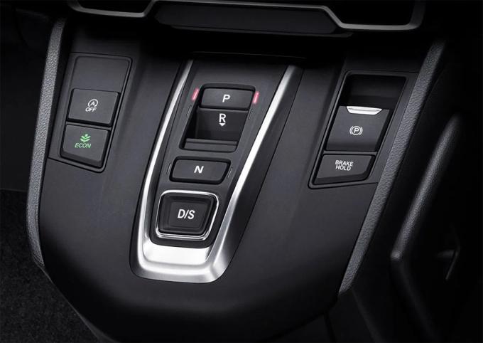 Hộp số dạng bấm mới trên CR-V 2020. Ảnh: Honda