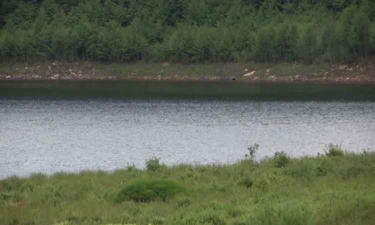 Hồ nước đầy trở lại sau 12 năm khô cạn