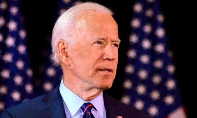 Ứng viên tổng thống đảng Dân chủ Joe Biden tại một sự kiện ở Wilmington, Delaware, tháng 9/2019. Ảnh: Reuters.