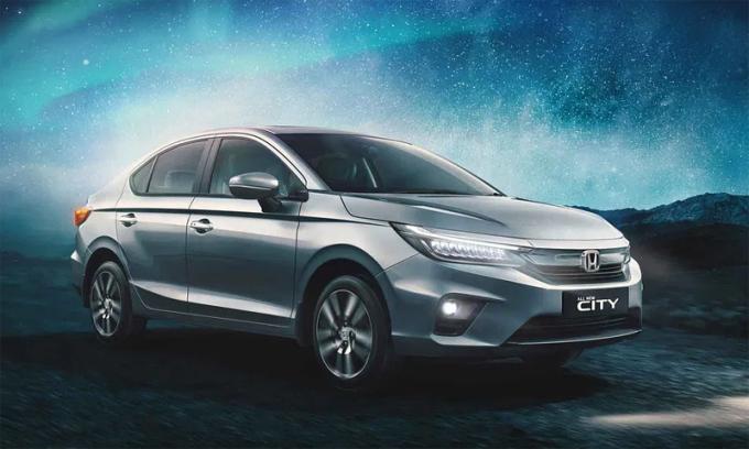 City thế hệ mới bán tại Ấn Độ. Ảnh: Honda
