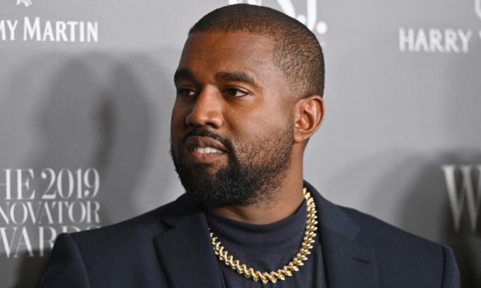 Rapper Kanye West dự một sự kiện ở thành phố New York, Mỹ tháng 11/2019. Ảnh: AFP.