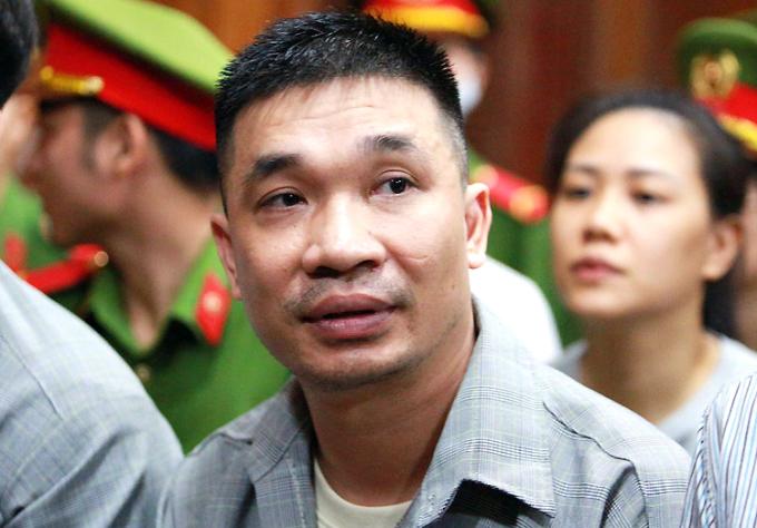 Bị cáo Văn Kính Dương tại tòa hôm nay. Ảnh: Hải Duyên.
