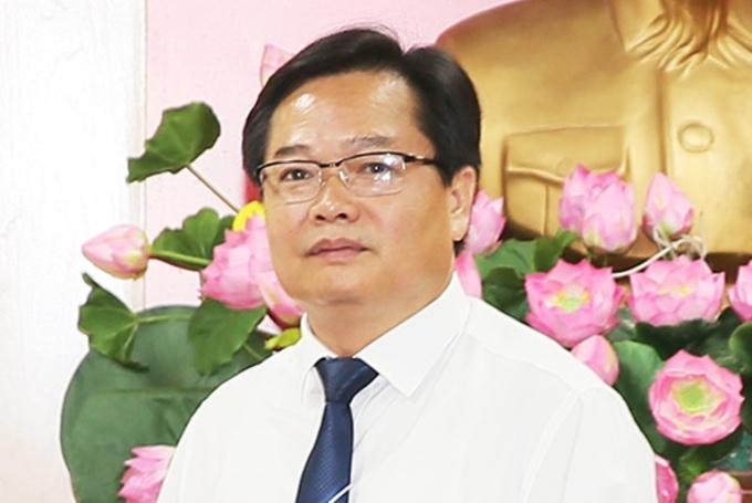 Ông Phạm Ngọc Vinh, Giám đốc Sở Tài chính. Ảnh: Đ.P