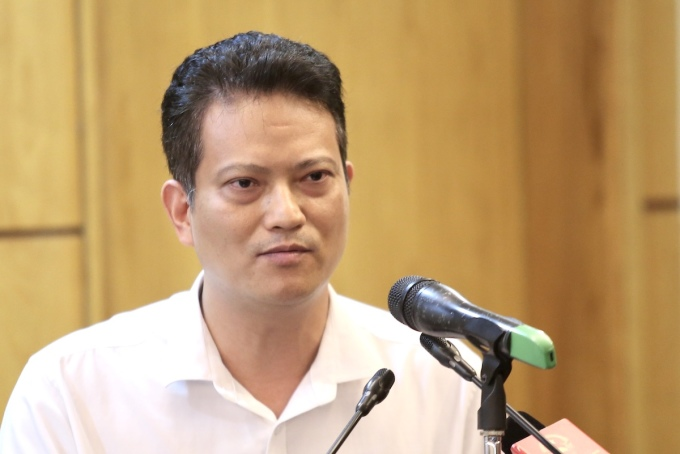 Ông Nguyễn Xuân Hải, Vụ trưởng thẩm định đánh giá tác động môi trường. Ảnh: Gia Chính