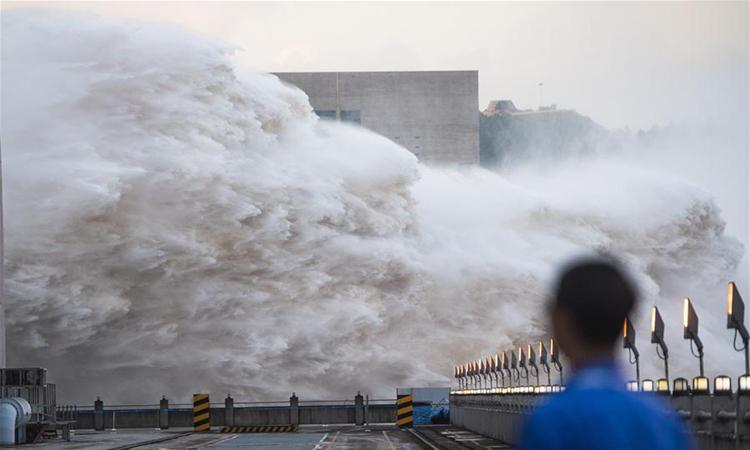 Mực nước hồ chứa đập Tam Hiệp cao kỷ lục