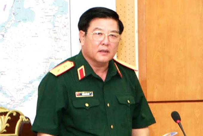 Trung tướng Dương Đức Hòa, Tư lệnh Quân khu 2. Ảnh: QĐND
