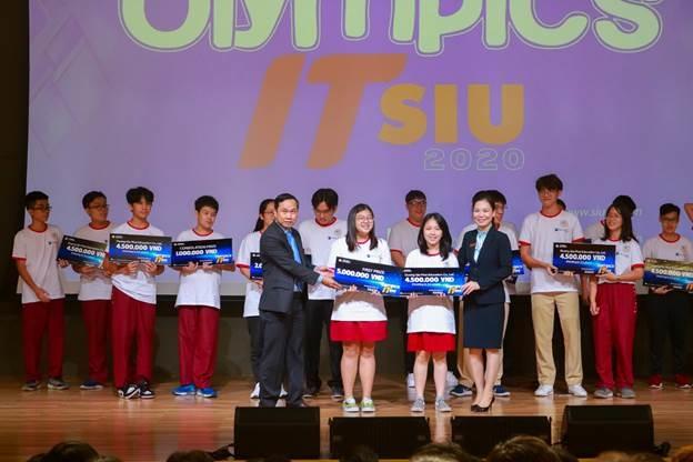 Học sinh Asian School giành giải cao tại Olympics IT SIU 2020