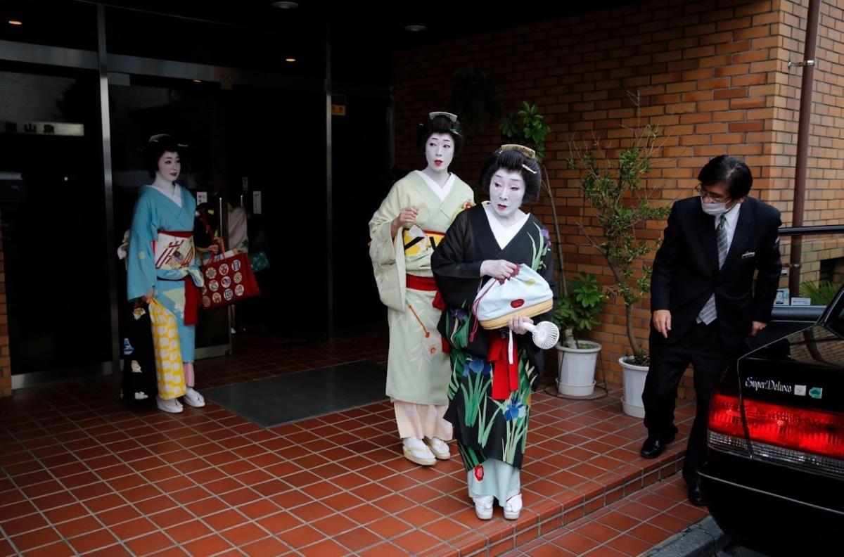 Geisha Nhật vật lộn tồn tại qua Covid-19
