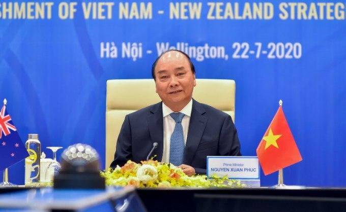 Việt Nam – New Zealand thiết lập quan hệ đối tác chiến lược