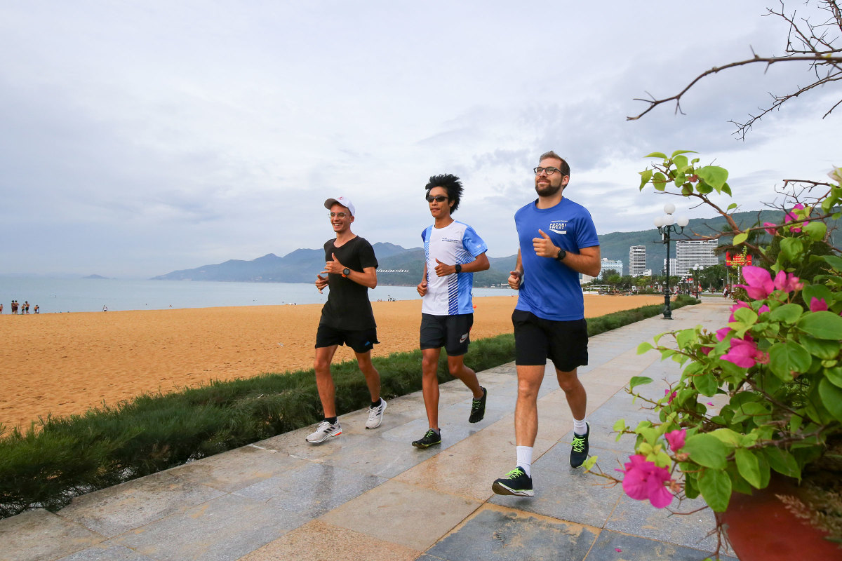 Quy Nhơn trang hoàng đón giải chạy VnEpxress Marathon