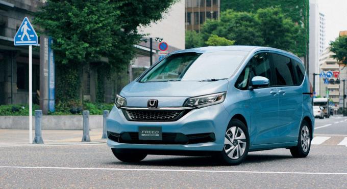 Mẫu MPV Freed tại Nhật Bản. Ảnh: Honda