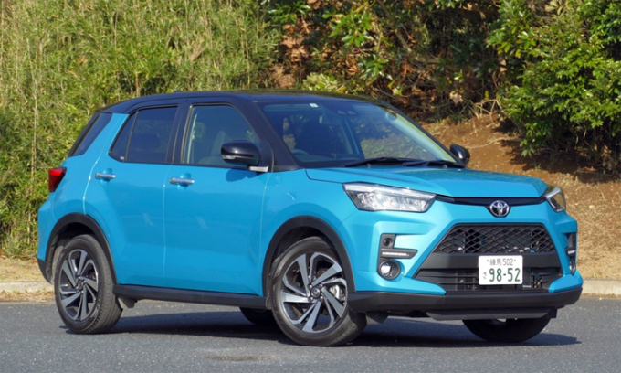 Raize, mẫu xe bán chạy nhất thị trường Nhật Bản trong nửa đầu 2020. Ảnh: Respone