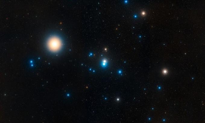 Cụm sao Hyades chỉ tồn tại khoảng 30 triệu năm nữa. Ảnh: ESA.