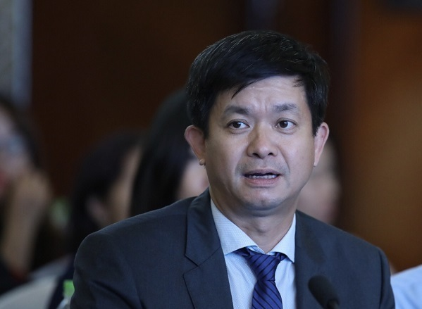 Thứ trưởng Văn hóa Thể thao Du lịch Lê Quang Tùng. Ảnh: Giang Huy