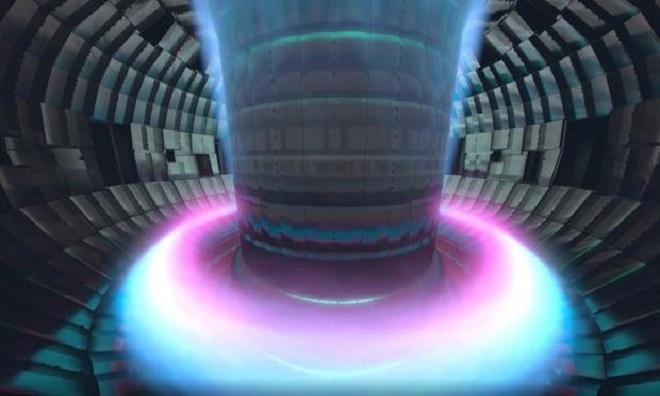 Mô phỏng lò Tokamak tạo ra plasma. Ảnh: CBS.