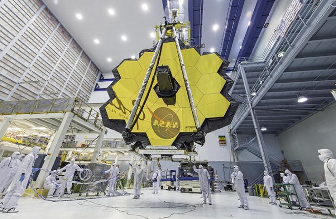 Kính viễn vọng không gian James Webb. Ảnh: NASA.