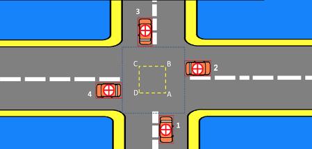 'Hiểu thế nào về luật nhường đường xe bên phải'