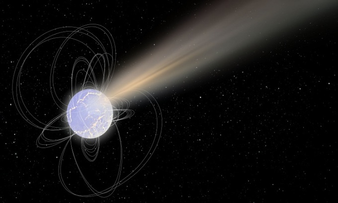 Dead stars transmit radio signals to Earth