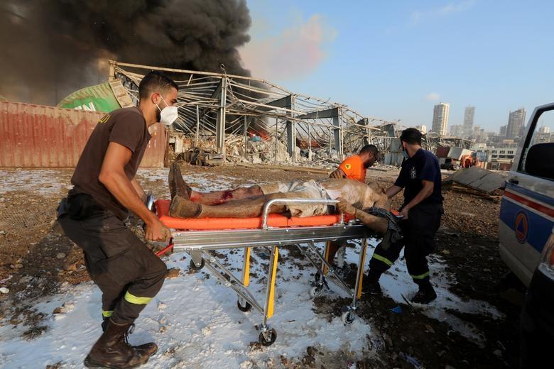Cảnh tượng như tận thế sau vụ nổ Beirut