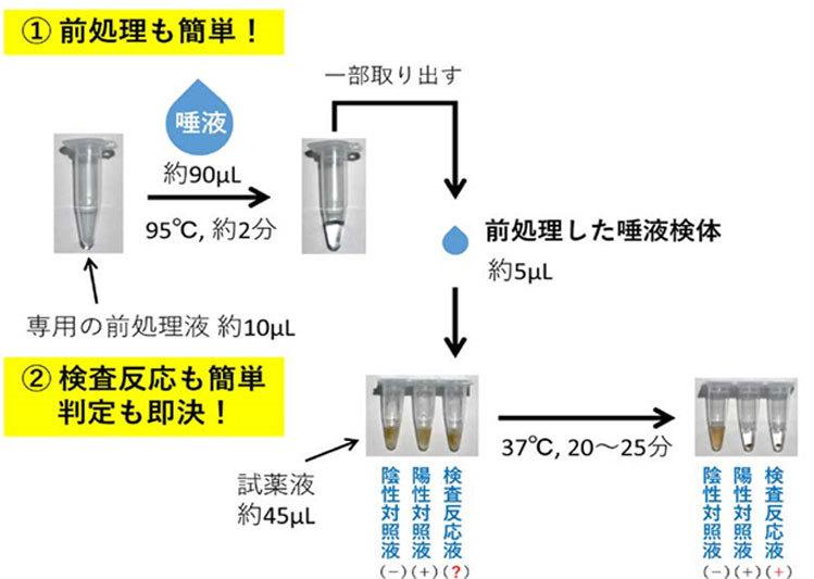 Kỹ thuật xét nghiệm nhanh nCoV từ mẫu nước bọt