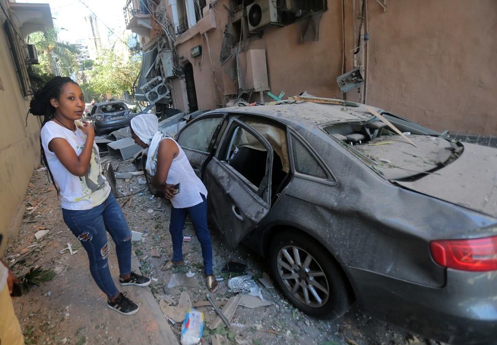 Beirut tan hoang sau vụ nổ
