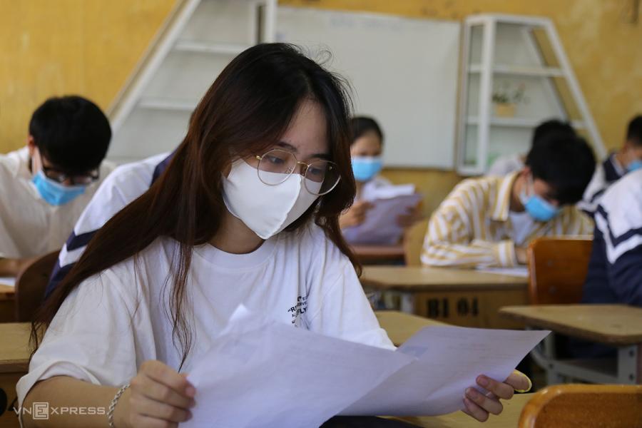 Hơn 120 thí sinh có thể hoãn thi tốt nghiệp đợt một