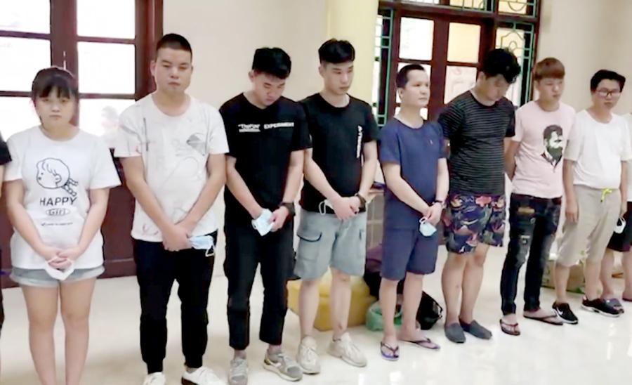 Quản lý nhà nghỉ chứa 27 người Trung Quốc nhập cảnh trái phép