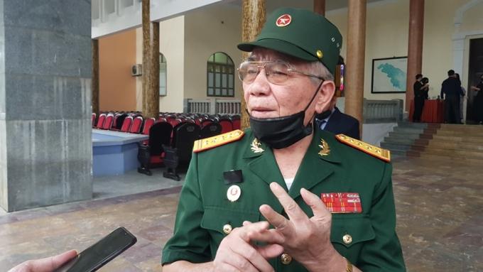 Đại tá Hồ Hữu Lạn. Ảnh: Lê Hoàng