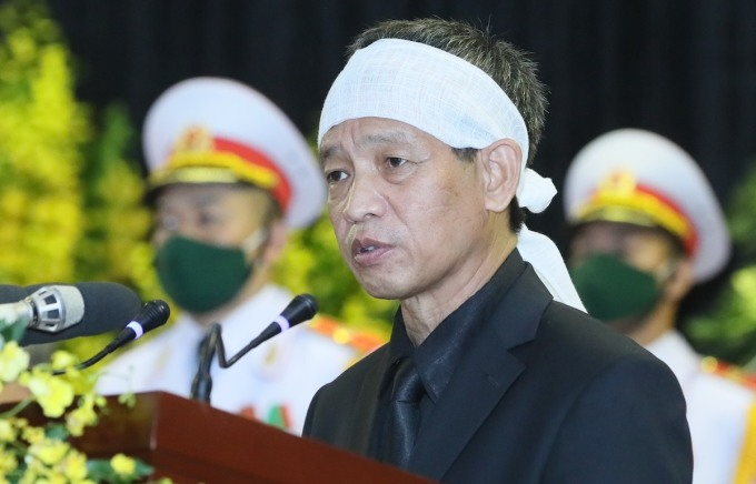 Ông Lê Minh Diễn, con trai nguyên Tổng bí thư Lê Khả Phiêu. Ảnh: Giang Huy