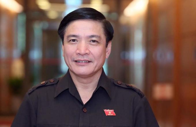 Bí thư tỉnh uỷ Bùi Văn Cường. Ảnh: Hoàng Phong