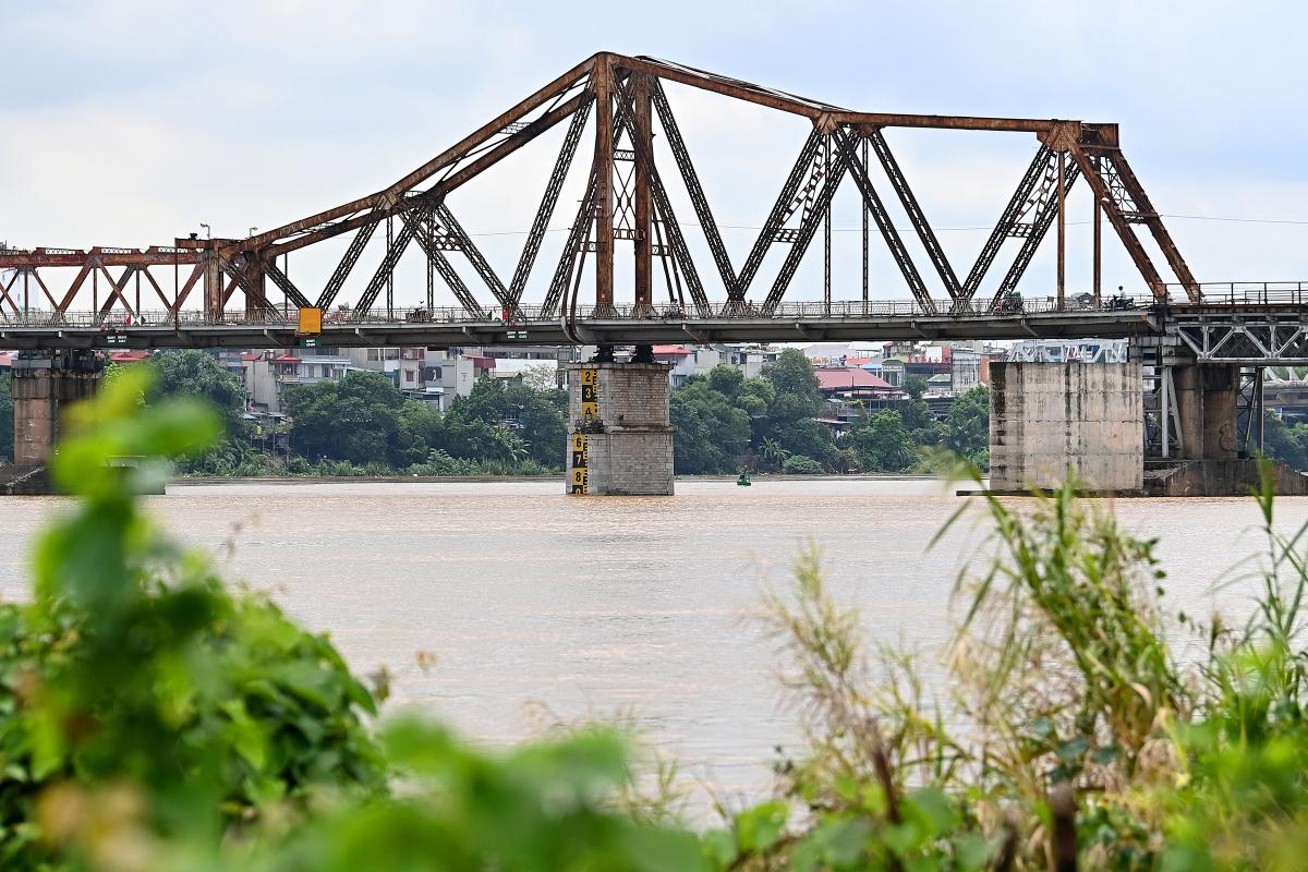 Nước sông Hồng dâng cao