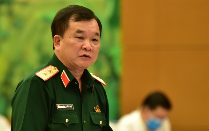 Trung tướng Hoàng Xuân Chiến, Thứ trưởng Quốc phòng. Ảnh: Hoàng Phong