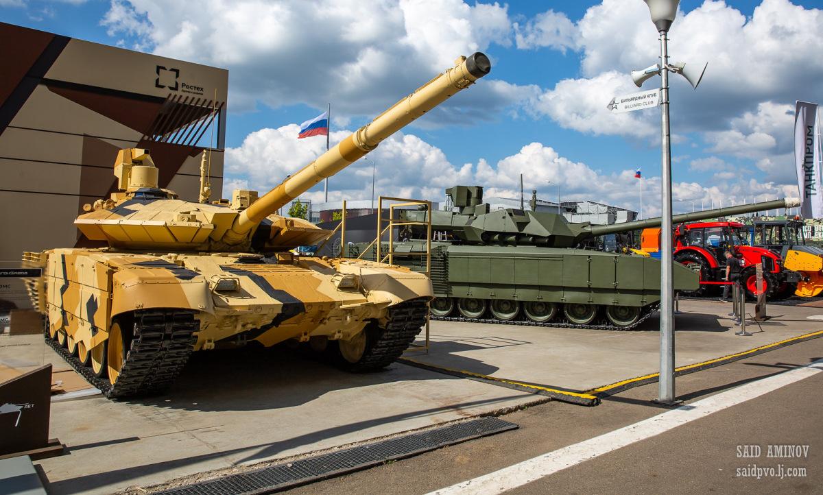 Nga khoe xe tăng, tên lửa tại triển lãm quân sự