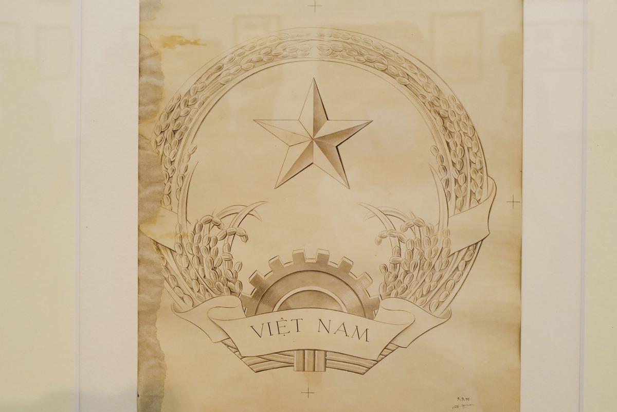 Những phác thảo Quốc huy Việt Nam