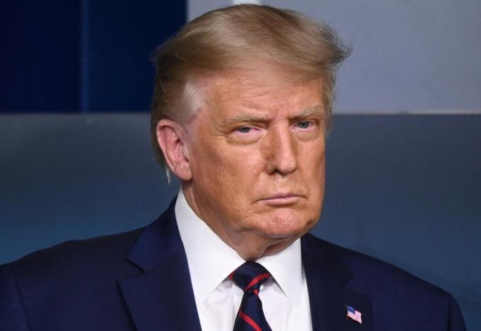 Tổng thống Trump tại Nhà Trắng ngày 24/8. Ảnh: Reuters.