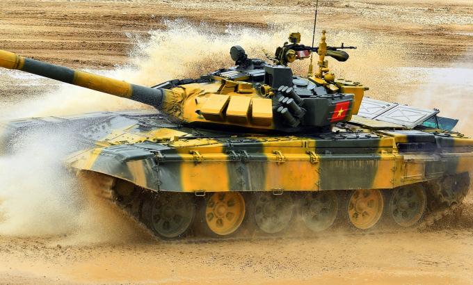 Đội xe tăng Việt Nam sắp thi đấu trận hai
