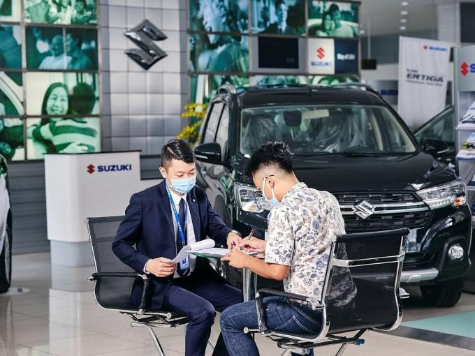 Suzuki nhận đánh giá cao của khách hàng về sự tận tình, chu đáo từ lúc mua xe đến suốt quá trình sử dụng. Ảnh: Suzuki.