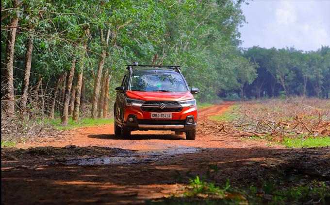XL7 - mẫu xe SUV mới là lựa chọn phù hợp cho gia đình Việt với tổng chi phí sở hữu hợp lý. Ảnh: Suzuki.