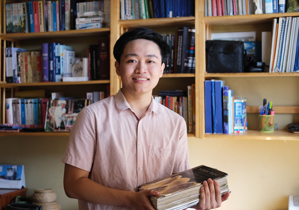 Nam sinh chuyên Vật lý giành giải bạc Olympic Sinh quốc tế