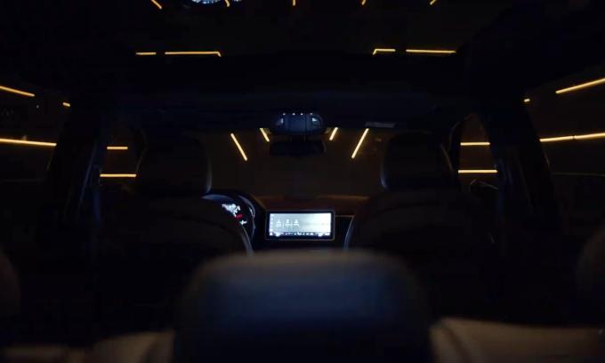 Mẫu SUV President lộ thiết kế nội thất.