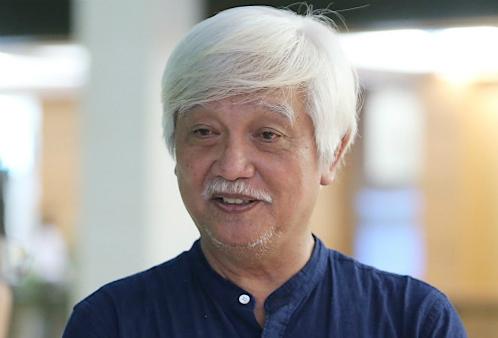 Nhà sử học Dương Trung Quốc. Ảnh: Hoàng Phong