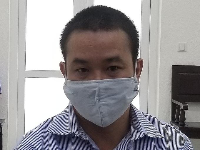Bị cáo Trịnh Duy Đăng tại phiên toà ngày 3/9. Ảnh: Lam Vân