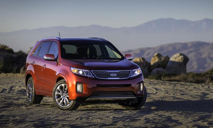 Hãng xe Hàn Quốc triệu hồi xe Santa Fe, Optima và Sorento tại thị trường Mỹ. Ảnh: Kia