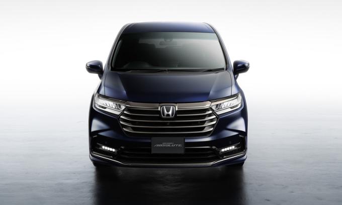 Odyssey phiên bản Absolute. Ảnh: Honda